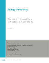 Energy Democracy in Boston